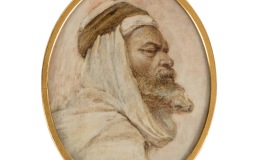 Portrait of an Arabian man
