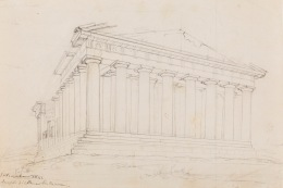 The Parthenon – View and Plan of the Propylaia