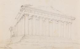 The Parthenon – View and Plan of thePropylaia